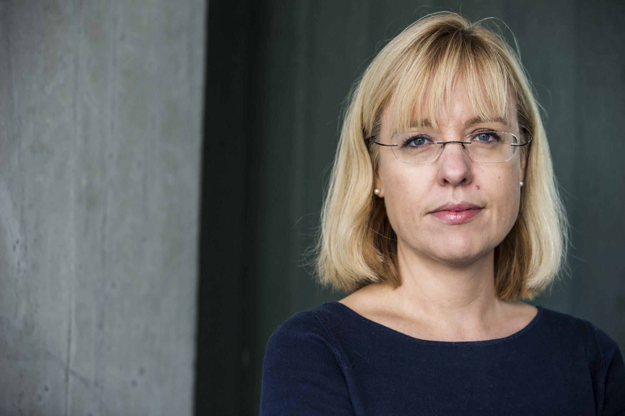 Direktør Åse Wetås i Språkrådet er ikkje begeistra for NSBs val av nytt namn – Vy. Foto: Mariam Butt / NTB scanpix