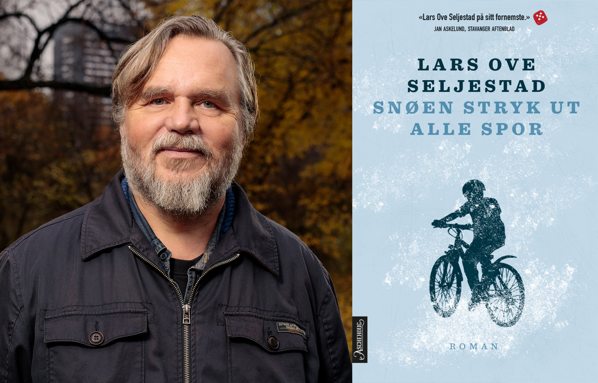 Omslag for boka Bokmelding: «Snøen stryk ut alle spor»