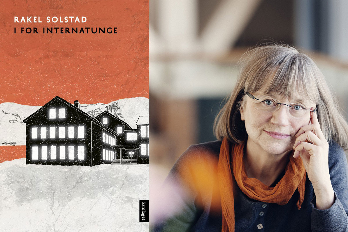 Omslag for boka Bokmelding: «I for internatunge» av Rakel Solstad