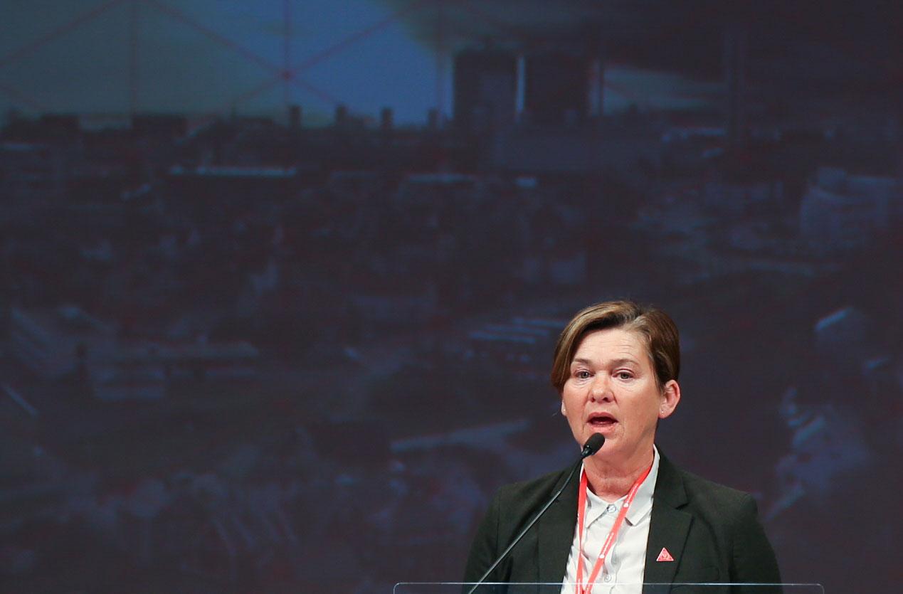 Eva Vinje Aurdal (Ap) blir ordførar i den nye Ålesund kommune. Foto: Ap