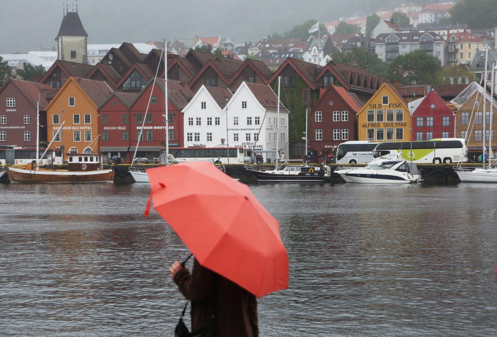 Bergen sentrum kan få fast tilbod om nynorskklasse. Foto: Erik Johansen / NTB scanpix / NPK