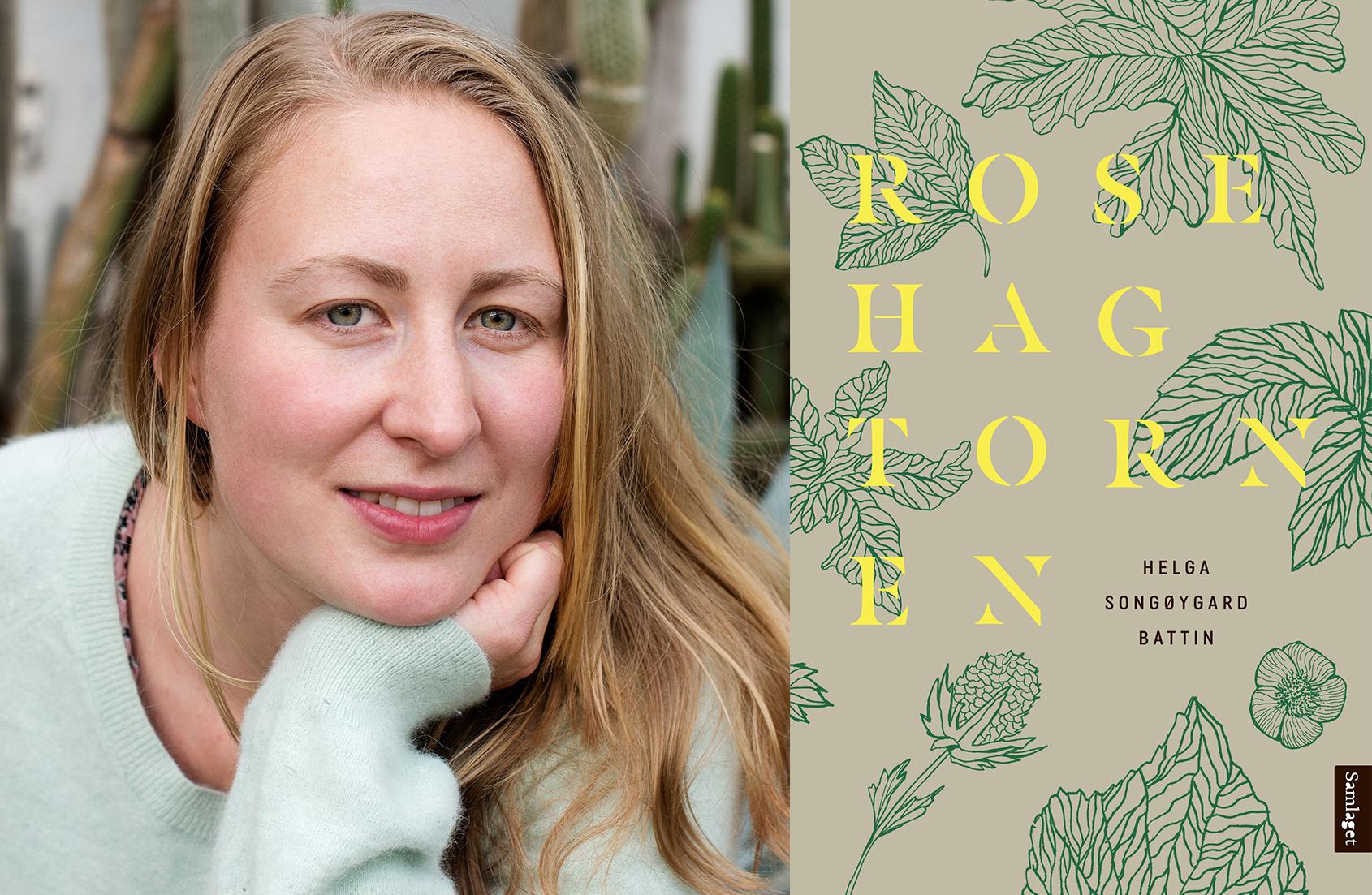 Omslag for boka Bokmelding: «Rosehagtornen» av Helga Songøygard Battin