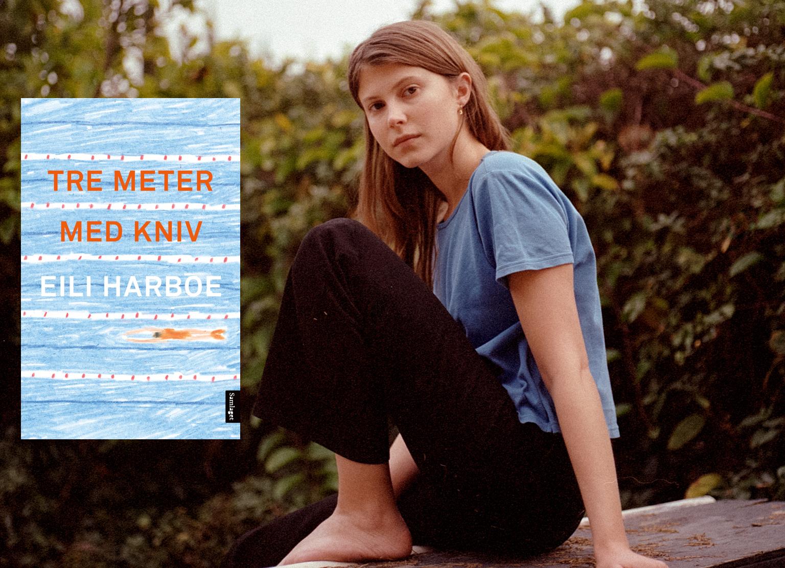 Eili Harboe med debutboka Tre meter med kniv