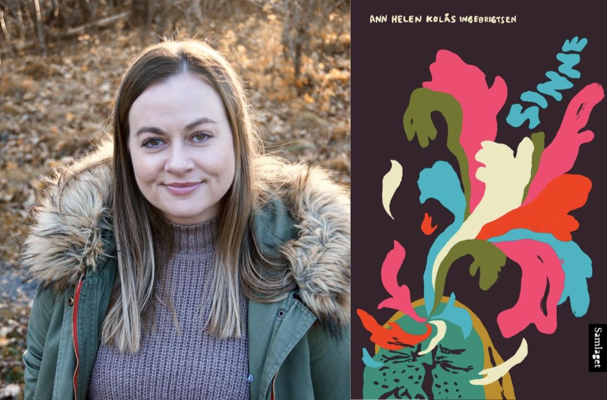 Omslag for boka Bokmelding: Sinne er ein kraftfull debutroman