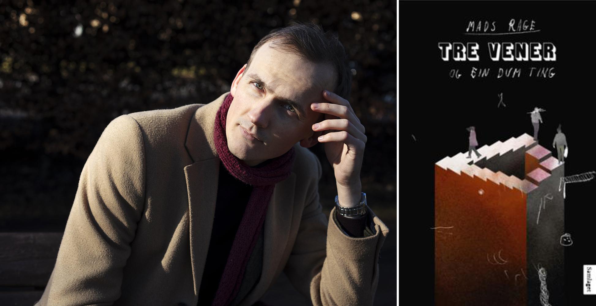 Omslag for boka Bokmelding av «Tre vener og ein dum ting»: Det raraste eg nokosinne har lese