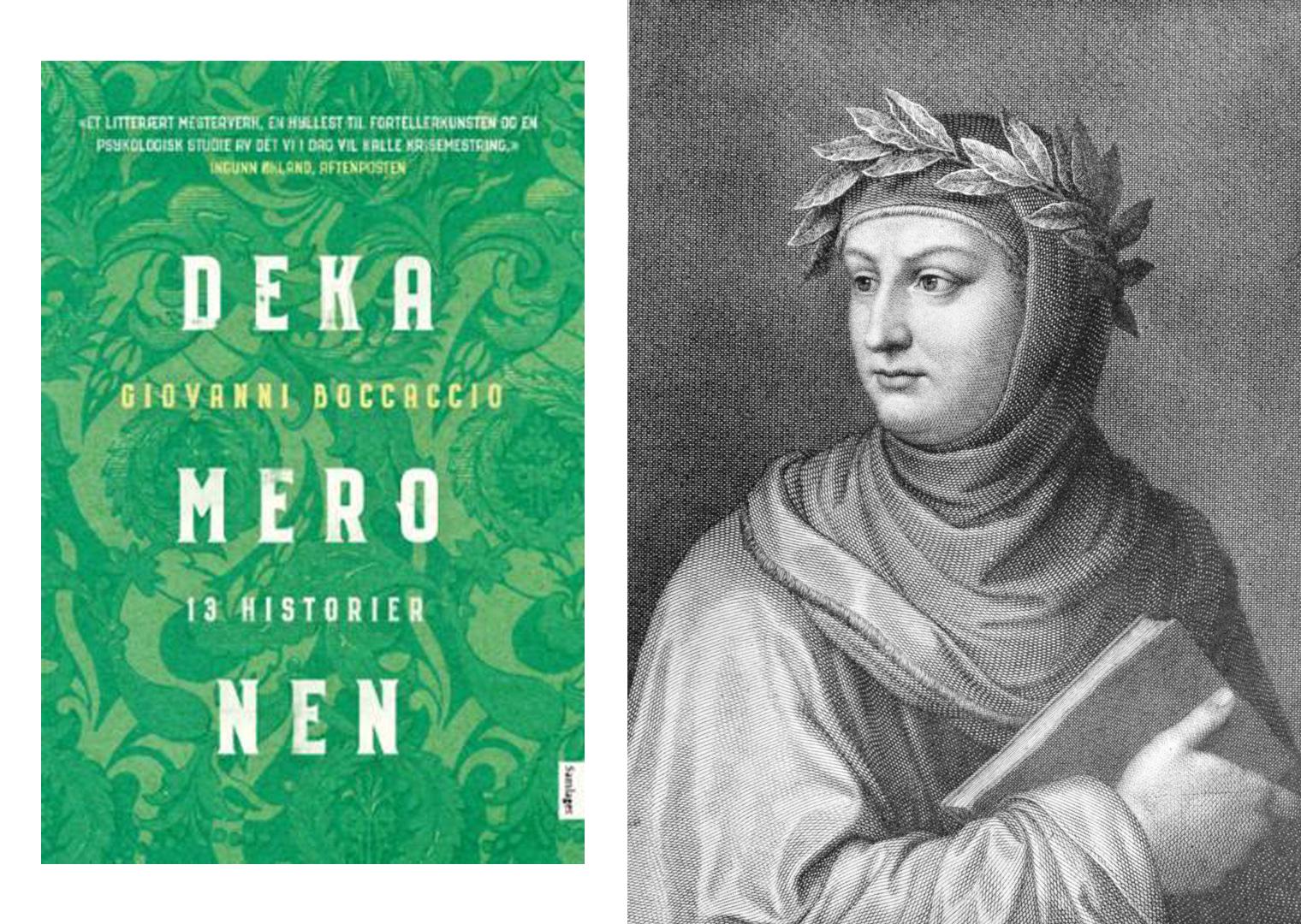 Omslag for boka Bokmelding: «Dekameronen – 13 historier» – klassikar med parallellar til dagens pandemi