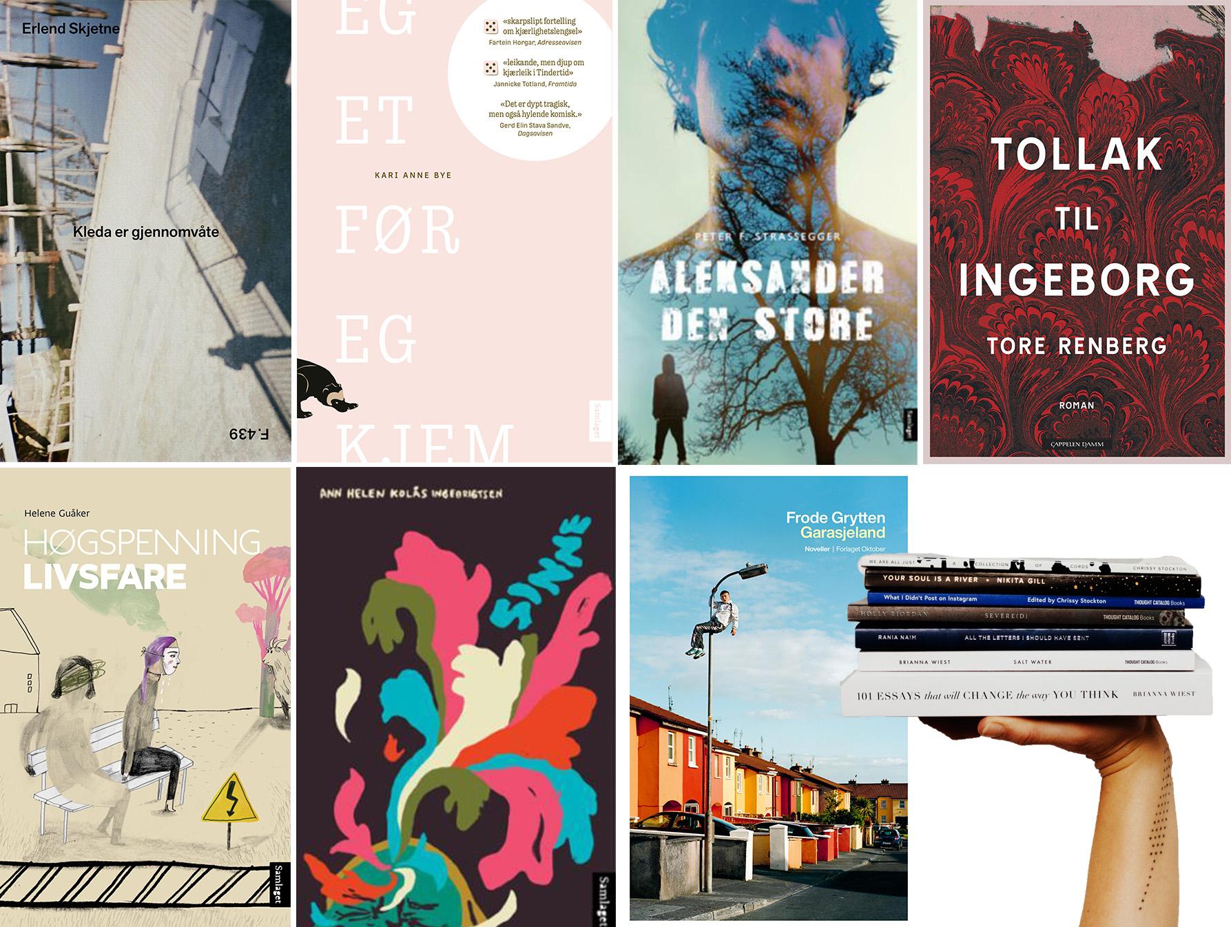 Omslag for boka Framtida sine beste boktips frå 2020