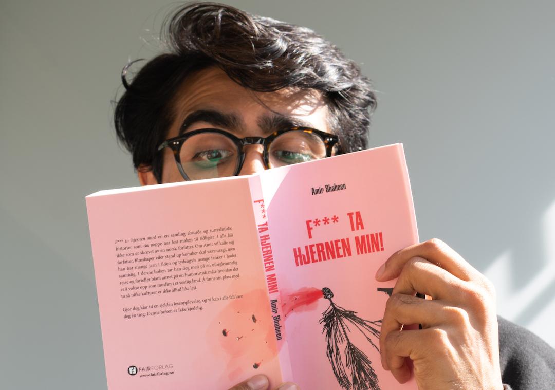 Omslag for boka Bokmelding: «F*** ta hjernen min!» – lever ikkje opp til forventingane