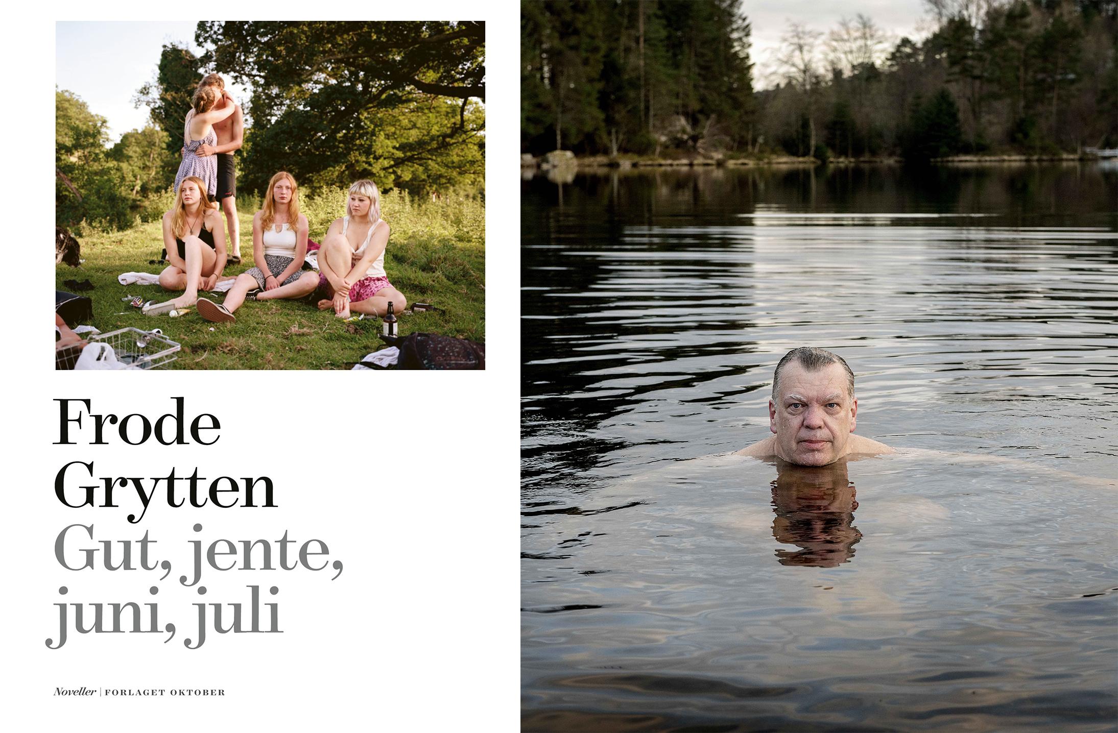 Omslag for boka Bokmelding: Gut, jente, juni, juli – Den perfekte sommarboka