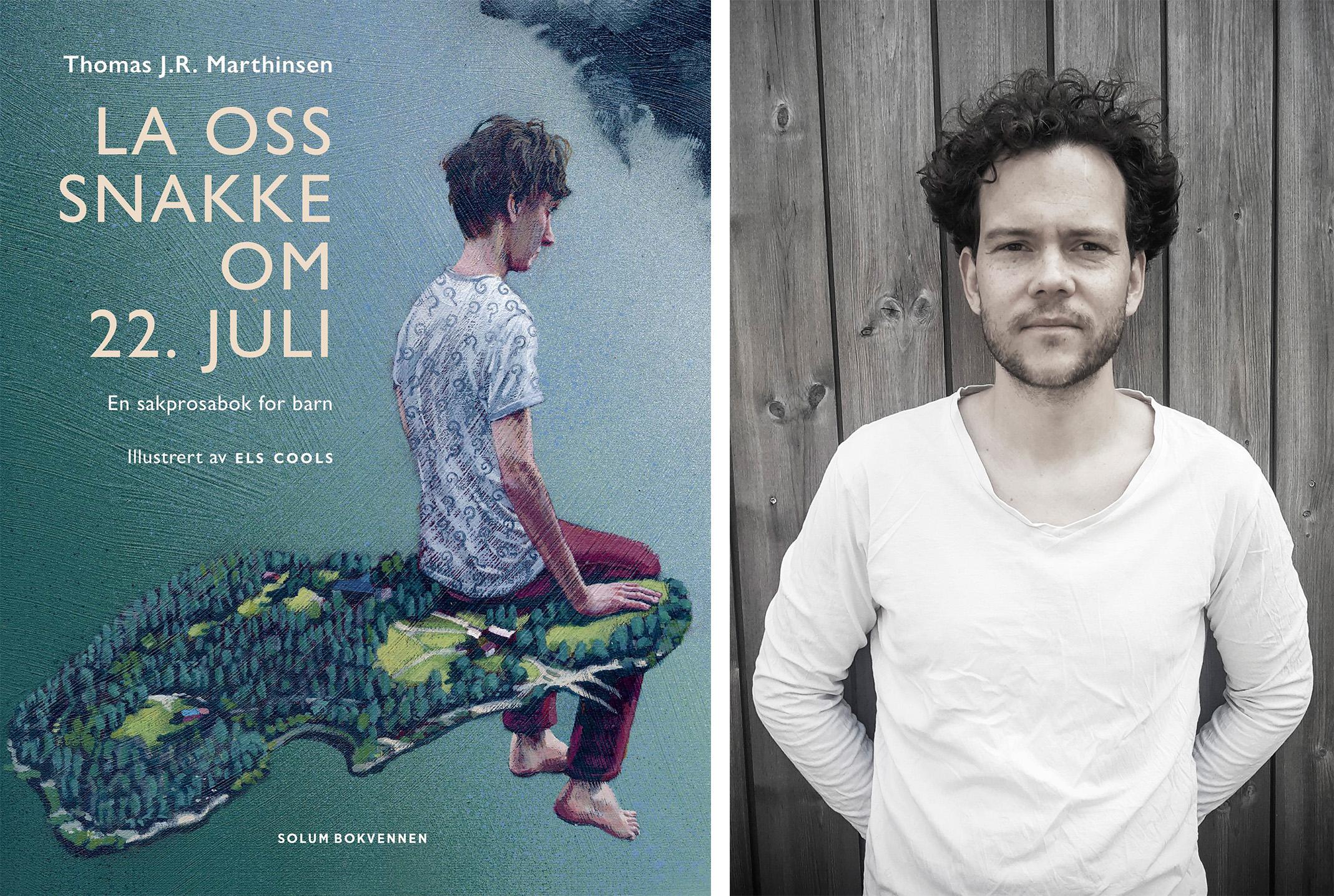 Omslag for boka Bokmelding: La oss snakke om 22. juli – kanskje årets viktigaste bok
