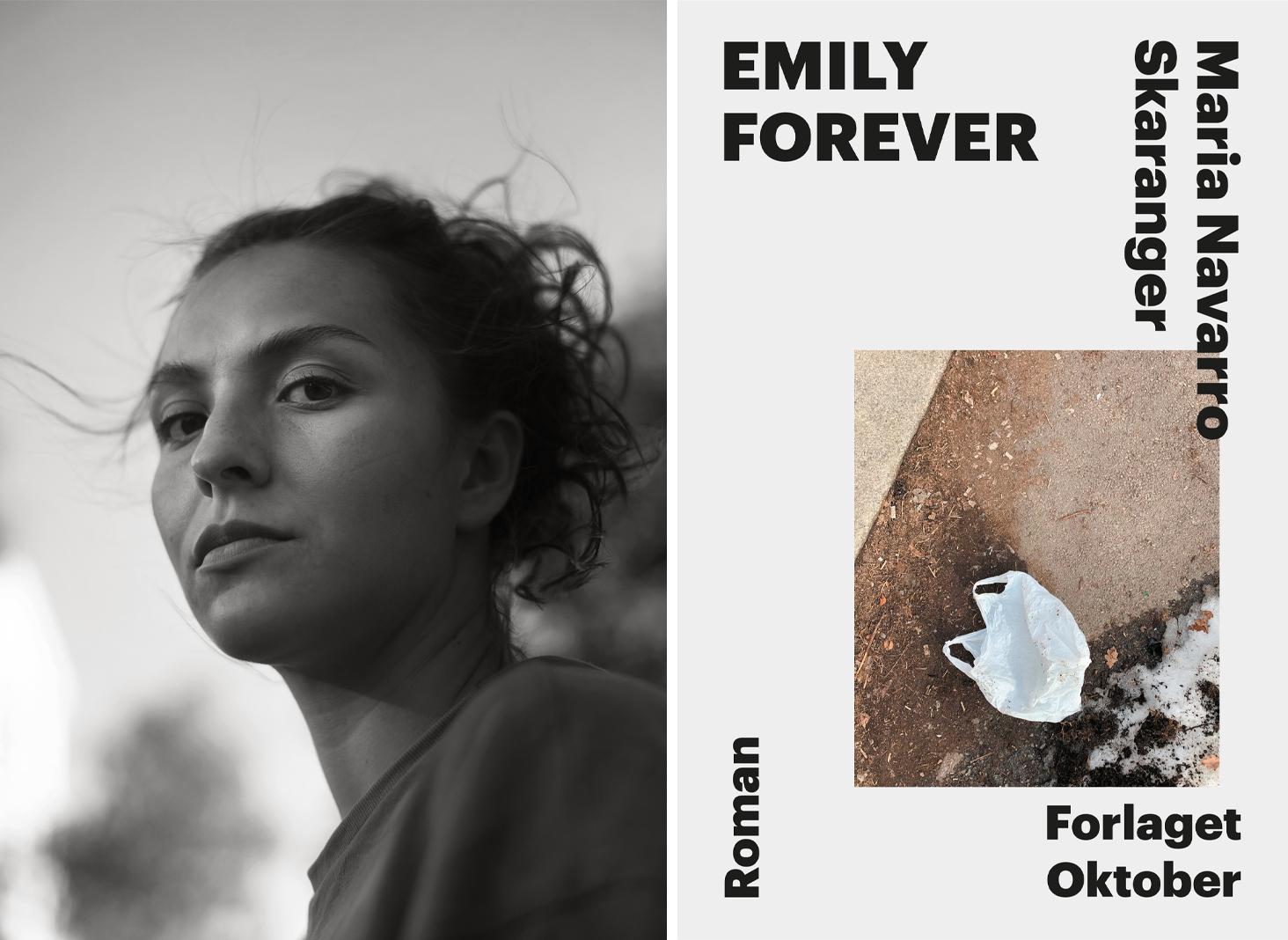 Omslag for boka Bokmelding: Emily Forever – heilt unik